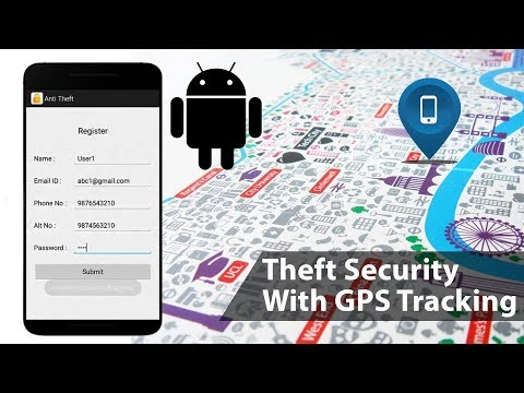 Android Phone Theft Security With GPS Tracking