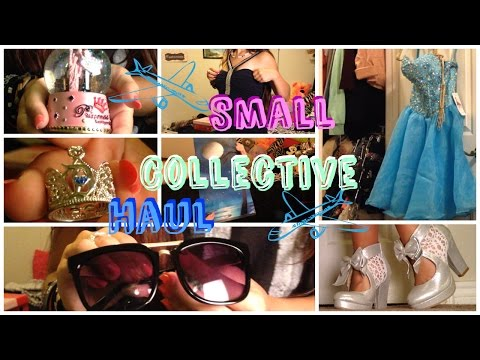 Small Collective Try On Haul + I MET PIINKSPARKLES?!