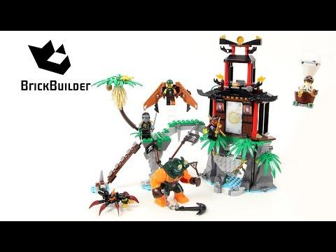 Lego Ninjago 70604 Tiger Widow Island Lego Speed Build Playithub