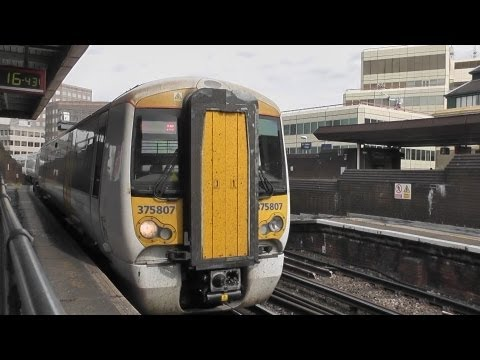 A Ride on a Class 375 from London Bridge to Tunbridge Wells 27/07/2013