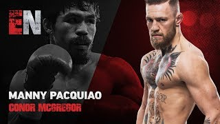 Download Manny Pacquiao Watching Buboy Play Basketball Is He Down For A Conor McGregor Fight EsNews Boxing Video