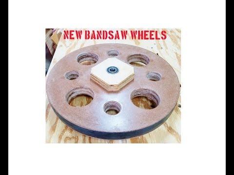 Bandsaw wheels