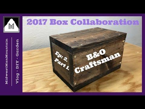 Make New Wood Look Old | Build a Rustic Box (B&O Craftsman)