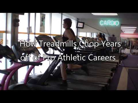How Treadmills Chop Years off of NFL and NBA Player's Careers