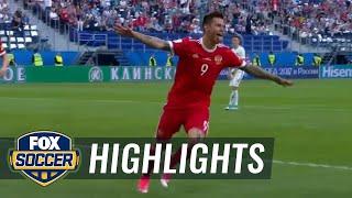 Russia vs. New Zealand | 2017 FIFA Confederations Cup Highlights