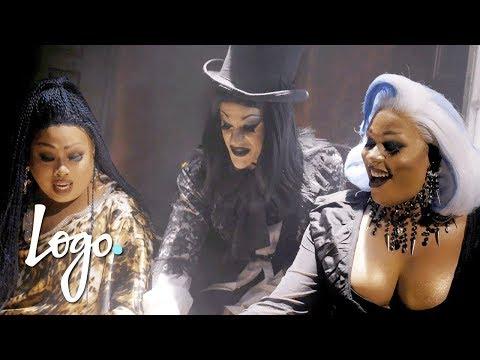 👻 Halloween Gayance w/ Peppermint, Jiggly Caliente & Thorgy Thor 🎃  | Logo