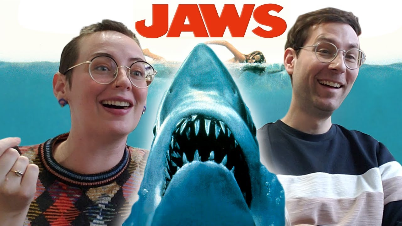 Jaws (1975) MOVIE REACTION - First time watching