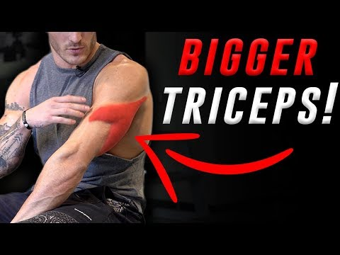 4 Exercises for Bigger Triceps (DUMBBELLS ONLY!)
