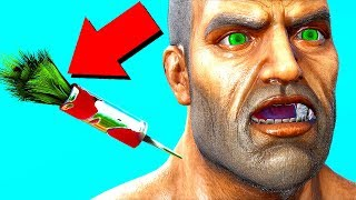 EVERYBODY FORGOT ABOUT THIS WEAPON! STEALTH RAIDS! (Ark Survival Evolved Trolling)
