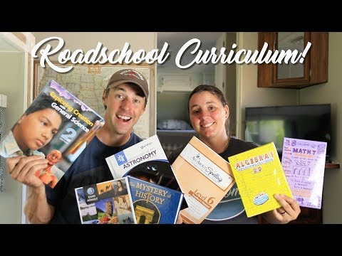 What We Use To Homeschool In Our RV! (Travel Home Schooling)