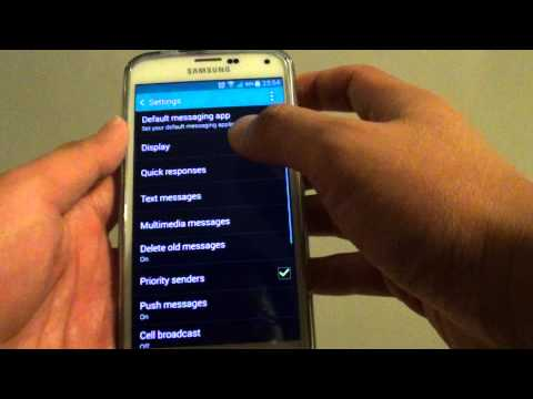 Samsung Galaxy S5: How to Change Text Messaging Bubble Style