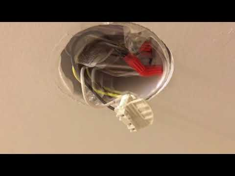 Replacing FireX 120-1128 Smoke Detector with the Kidde I4618