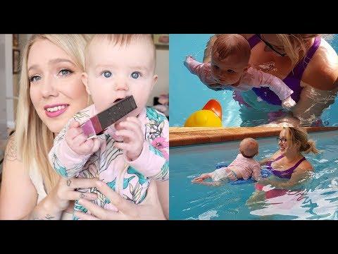 3 MONTHS! Postpartum & Hazel Update | Mothers group, Swimming + MORE Jade Madden