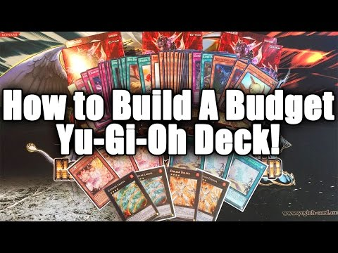 HOW TO BUILD THE BEST COMPETITIVE YUGIOH DECK ON A BUDGET!