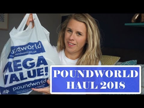 POUNDWORLD HAUL 2018 | MERMAID AND UNICORN BIRTHDAY PARTY IDEAS