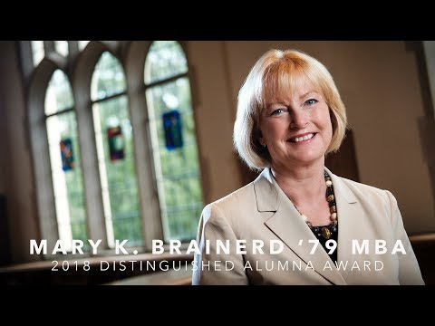 2018 Distinguished Alumna/Alumnus Award - Mary K. Brainerd '79, MBA