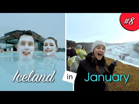 Iceland, Reykjavik in January - Blue Lagoon, Golden Circle and more! 4K