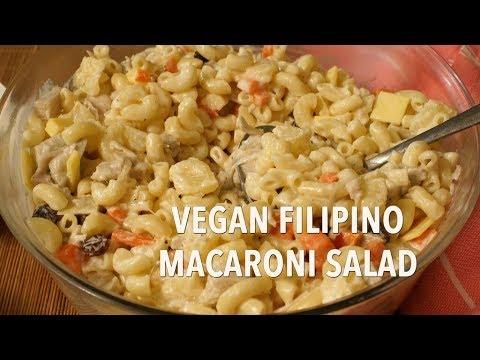 Vegan Filipino Macaroni Salad Recipe