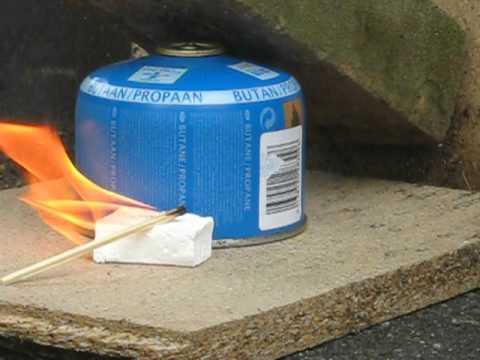 Using Butane/Propane as a Fire Extinguisher