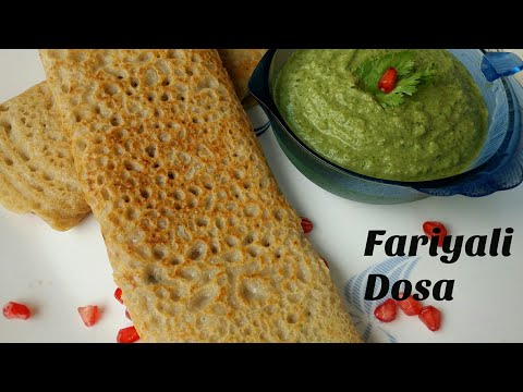 FARALI RECIPE IN HINDI |   FARALI DOSA | UPVAS DOSA | FASTING RECIPE.