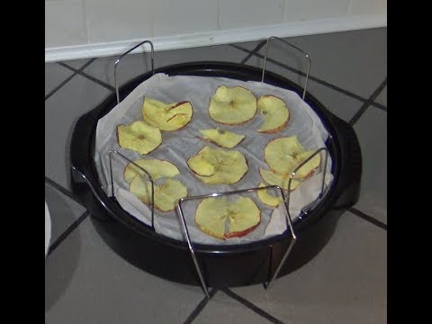 Dehydrated Fruit NuWave Oven Apple Chips (Easy)