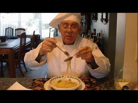 Linguine Aglio e Olio (Garlic and Oil)