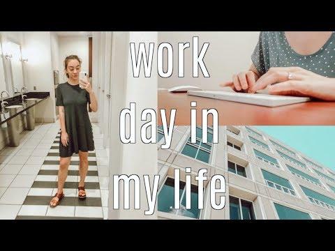 work day in my life: internship update, saying bye to gav + staying fit