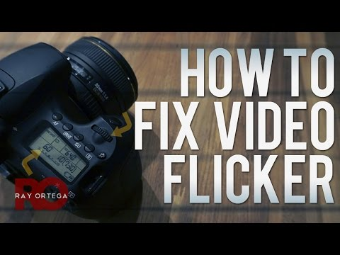 How to Fix Flickering DSLR Video