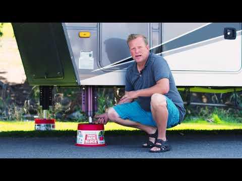 Andersen Trailer Jack Block - now with magnets!