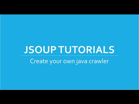 Web Crawler/Scraper in Java using Jsoup Tutorials # 4 | Extract images from website using DOM