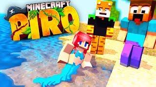 Wir treffen eine Meerjungfrau! - Minecraft PIRO ☠️ #12