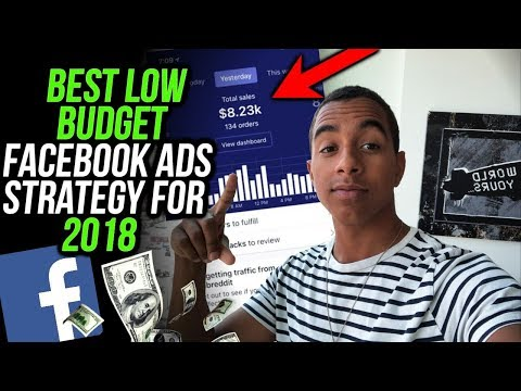 ULTIMATE LOW BUDGET STRATEGY FOR FACEBOOK ADS 2018 (SHOPIFY DROPSHIPPING GUIDE)