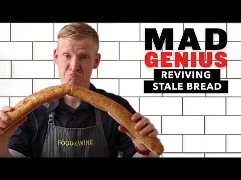How to Revive Stale Bread | Mad Genius Tips | Food & Wine