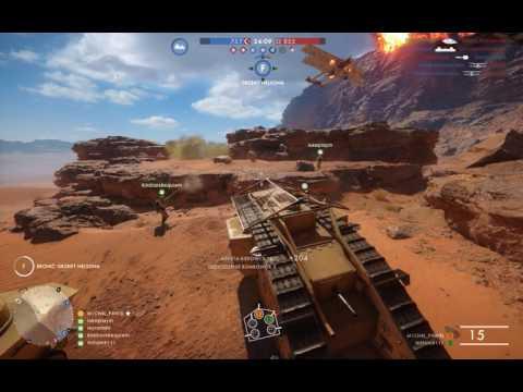 Battlefield 1 || Mati destroys airplane