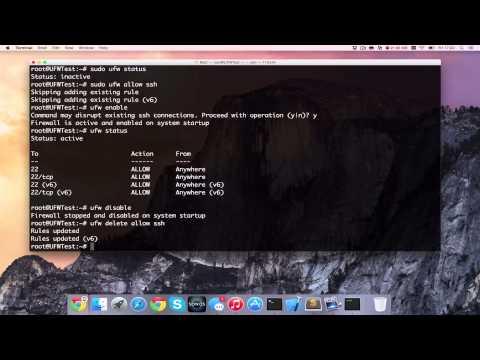 How to Install Firewall (UFW) on Ubuntu 15.04 Vivid Vervet [HD][4K][Tutorial] 2017