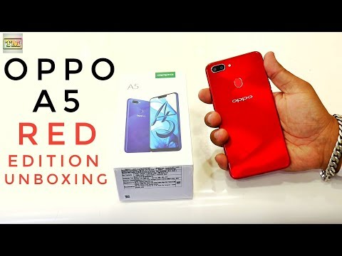 Oppo A5 Unboxing Red Edition New Launch