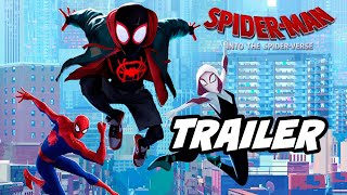 Spider-Man Into The Spider-Verse Official Trailer Breakdown and Avengers Easter Eggs
