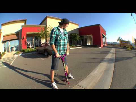 Scooter Zone How To: Barspin with Raymond Warner