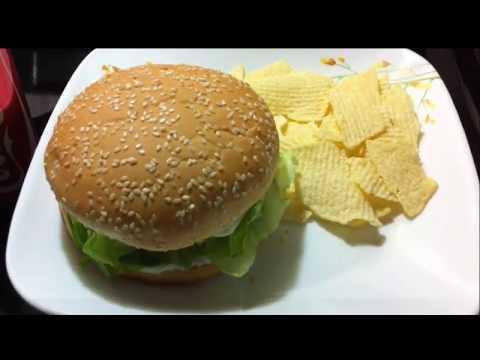 Veggie Burger Mcdonalds India style at home