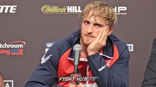 A GUTTED LOGAN PAUL TALKS LOSS TO KSI - FULL KSI VS LOGAN PAUL 2 POST FIGHT PRESS CONFERENCE