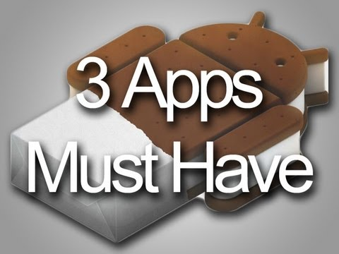 3 apps must have in CM9 ICS 4.0.4