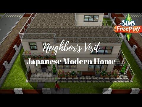 Japanese Modern Home By Seitamet Geilan | Sims FreePlay