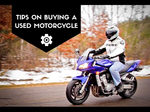 How To Buy A Used Motorcycle, Video Tutorial Tips and Buyers Guide