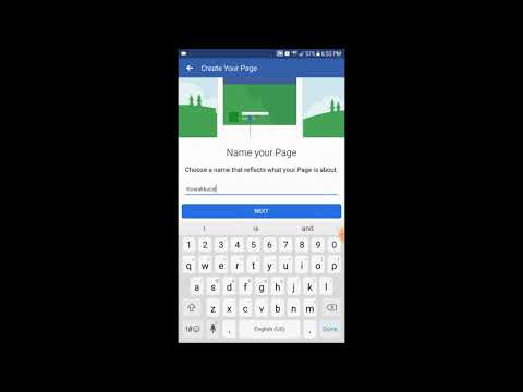 How To Create An Artist Or Band Facebook Page Android App