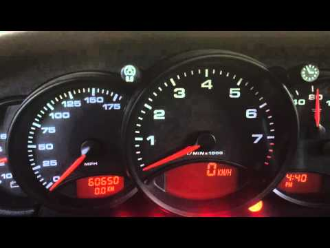 HOW TO CHANGE KILOMETERS TO MILES PORSCHE 996 911