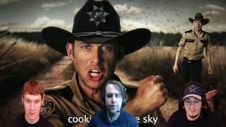 ERB - Rick Grimes vs. Walter White   DarkStar Reacts