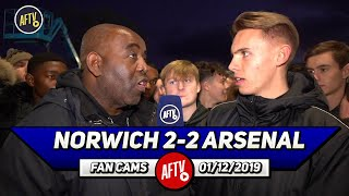 Norwich 2-2 Arsenal | We Are Still Not Playing To Aubameyang's Strengths!