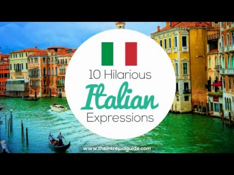 10 Hilarious Italian Expressions 🇮🇹