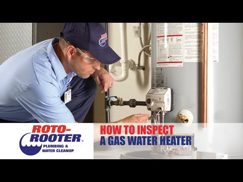 How to Inspect a Gas Water Heater | Roto-Rooter