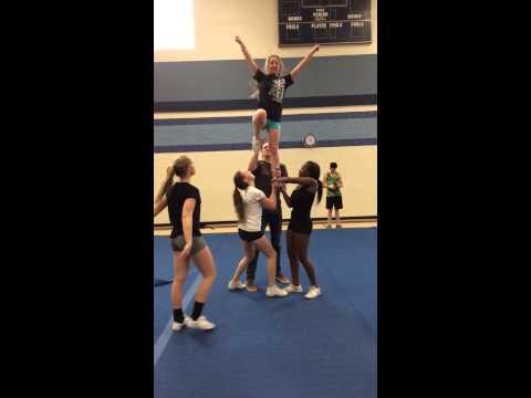 Advanced Cheer Stunt